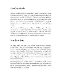 Short Term Professional Goals Professional Short Term Goals Examples Magdalene Project Org