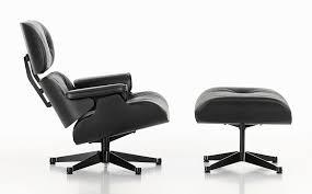 black lounge chair. Fine Black Lounge Chair U0026 Ottoman  Black Version 89 Cm In