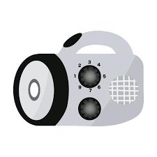 ラジオ付き防災懐中電灯のイラスト 商用フリー無料のイラスト素材