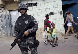 Brazil Security Forces Patrolling Rio Amid Surge Of Violence The