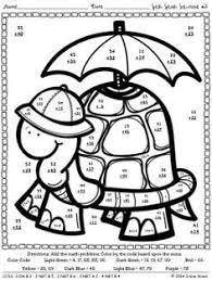 6a5d61abca205bbb70f9434c3faf6ad1 multiplication worksheets maths puzzles 25 best ideas about math coloring worksheets on pinterest free on practice worksheets for 2nd grade