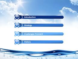 wave powerpoint templates water wave powerpoint template backgrounds 04866