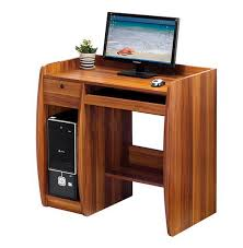 wooden computer table designs