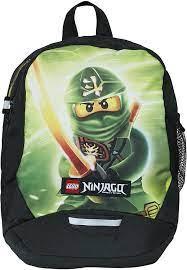 LEGO Vline Ninjago Lloyd Kinder-Rucksack, 33 cm, 9 liters, Grün (Verde) :  Amazon.de: Spielzeug