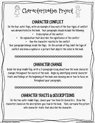 teaching a mountain view character project for any novel  if you are looking for more resources for your character study stop by my teachers pay teachers store i have a huge bundle of character study task cards