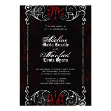 best 25 gothic wedding invitations ideas on pinterest black Gothic Wedding Invitations Templates gothic victorian spooky red, black & white wedding custom invite wedding invitations gothic wedding invitations templates