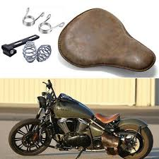 bobber motorcycle spring solo seat for