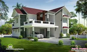 gallery beautiful home. Beautiful Sloping Roof Villa Kerala Home Design And Floor Plans Images Of Homes Awesome 29 Gallery .