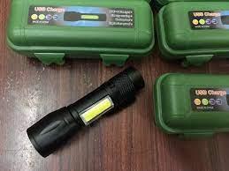 Đèn Pin siêu sáng loại nhỏ bỏ túi hoặc cài áo có zoom chiếu xa rất