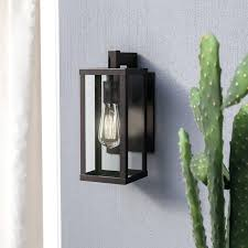 contemporary outdoor wall lights uk mercury row 1 light lantern reviews