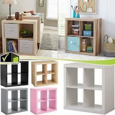 Versatile furniture Compact Modern Cube Wood Square Storage Organizer Versatile Bookcase Shelves Furniture Picclick Modern Cube Wood Square Storage Organizer Versatile Bookcase