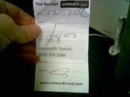 London Taxi Receipt Pdf Noisy Decent Graphics