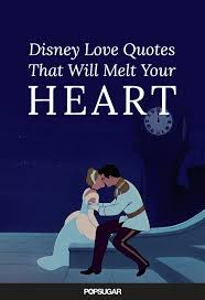 Disney Love Quotes Classy Disney Love Quotes POPSUGAR Love Sex