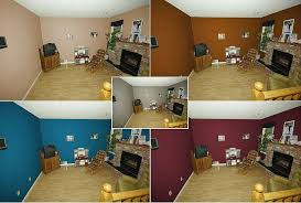Interesting Dining Room Paint Ideas With Accent Wall Painting And