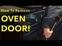 how to remove reinstall oven door whirlpool stove model number wfe515s0es0