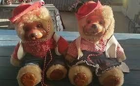 Raikes Jesse and Bonnie Sheriff Bears | eBay
