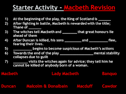 teaching shakespeare tes macbeth introduction to witchcraft context lesson