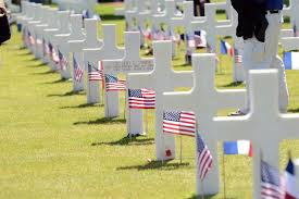 u s department of > photos > photo essays > essay view american headstones at the normandy american cemetery during a ceremony commemorating the 70th anniversary of d