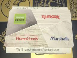 tj ma giftcard merchcards 138 60 marshalls homegoods homesense sierratrading 1 of 1