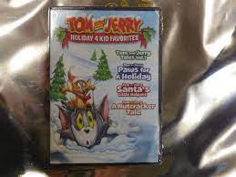 Tom and Jerry Holiday 4 Kid Favorites Christmas DVD for sale online