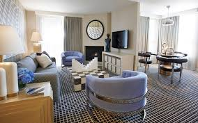 One Bedroom Interior Design Accommodations Hollywood Luxury Hotels The Chamberlain West