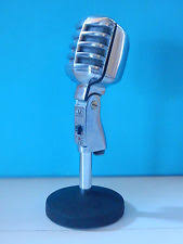 electro voice vintage pro audio equipment vintage 1950s electro voice 611 dynamic high z microphone stand shure old