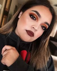 fall makeup look using morphe x jaclyn hill palette in ring the alarm insram mtzbeauty