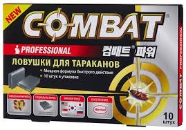 Купить <b>Ловушка Combat</b> Professional от <b>тараканов</b> (10 шт.) по ...