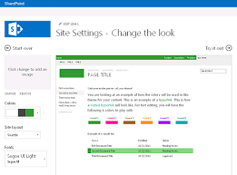 Customize The Look Of Your Community Sharepoint