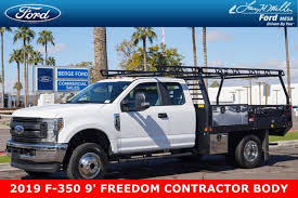 Cab To Axle Body Length Chart Ford 2019 F 350 Super Cab Drw 4x4 Freedom Procontractor Body Stock 19p187