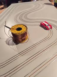 wiring ho slot car track wiring diagram for you • ho routed slot car track finishing up slots r us rh com slot car track layouts 4x8 ho slot car track wiring diagram