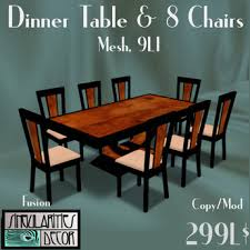 french art deco dining table and 8 chairs fusion series black lacquer and cherry burl mesh 1li each pc art deco dining 7