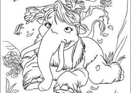 Small Picture Ice Age Coloring Pages Coloring4Freecom