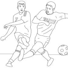 Small Picture Soccer Coloring Pages Messi Boys Coloring Pages Football