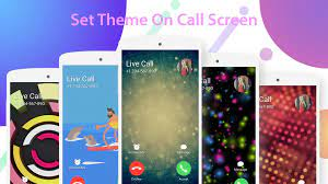 Live Color Call Screen Theme Phone X OS ...