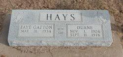 William Duane Hays (1924-1976) - Find A Grave Memorial