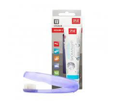 <b>Дорожный набор</b> SPLAT WHITE PLUS 40 мл + зубная <b>щетка</b> 40 мл