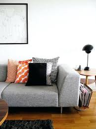 encouraging gray couch pillows