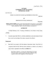 Job Application Form Ontario Affidavit Of Service Form Templates ...