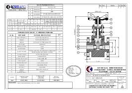 Technical Details Kumars Forge And Valves