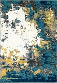 wrought studio blue yellow area rug reviews with regard to and rugs idea for kitchen full