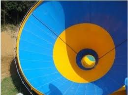 Water Fun Fiberglass Theme Big Tornado Water Sport Park Slide