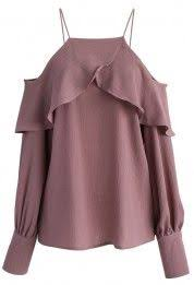 Fashion Korean Women Chiffon Strap <b>Off Shoulder</b> Loose <b>Tunic</b> ...
