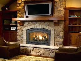 direct vent fireplace inserts installing gas interior wall