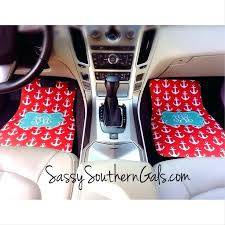 personalised car seat covers best monogrammed mat personalized mats design your own floor accessories gift ca