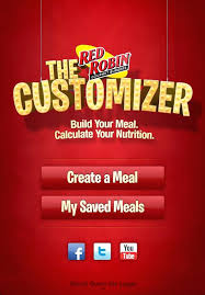 red robin restaurant nutrition red robin app review for my news red robin menu nutrition information