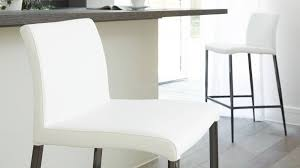 modern white leather kitchen barstools uk delivery