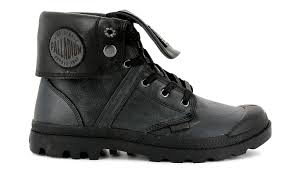 black shoes palladium boots pallabrouse baggy l2 leather 122 73080 008 m shooos