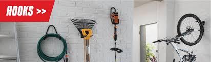 storage hooks garage wall hanging