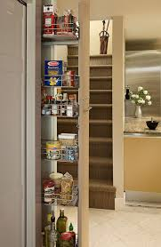 Pull out pantry in Galley kitchen eclectic-kitchen
